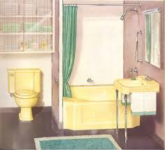 bathroom colors yellow. Kohler Colors 1950s Vintage Yellowy Beige Bathroom Yellow