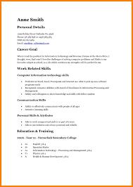 Basic Sample Resume Sample Resume Format For High School Students Study Inside Basic 39