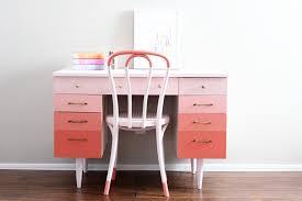 coral furniture. Ombre-coral-desk Coral Furniture L