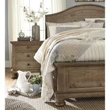 Trishley Queen Bed Frame - Ashley Furniture | Farm House | Bedroom ...