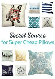 Inexpensive Throw Pillow Covers