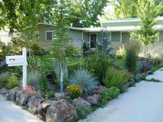 Small Picture Low Maintenance Front Yard Landscaping Front yard desert