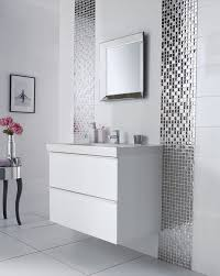 Mosaic Bathroom Designs New At Impressive Fascinating Glass Tiles ...