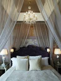 Stunning Romantic Bedroom Ideas White Bed Curtain Design Decobizzcom