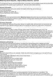 ... Excellent Maternity Nurse Job Description Interview ...
