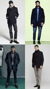 stylish ways to wear a peacoat