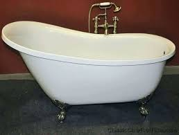 gallery of acrylic vs cast iron bathtub skirted tub difference inside designs 8 top extraordinay 1