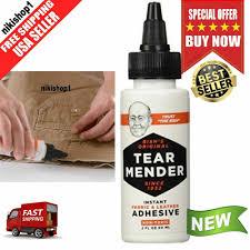details about tear mender tg2 bishs original tear mender instant fabric and leather