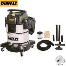 Máy hút bụi công nghiệp DeWalt DXV30S tích hợp 3 chức năng hút khô ,ướt và  thổi 30L công suất 3000W vỏ inox- Hàng chính hãng - Hút bụi gia đình Nhãn