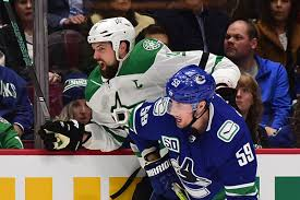 Vancouver Canucks Depth Chart Self Assured Dallas Stars Face An Unpredictable Canucks