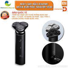 Máy cạo râu Xiaomi Mijia Electric Shaver S500 Thế giới điện máy - đại lý  xiaomi chính hãng tại Việt Nam