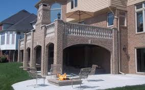 cantilever patio remarkable brick for patio deck and exterior wall panel system