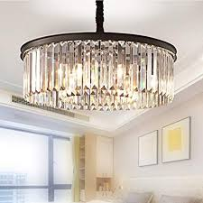 Contemporary lighting for dining room Modern Meelighting Crystal Chandeliers Modern Contemporary Ceiling Lights Fixtures Pendant Lighting Dining Room Living Room Chandelier D21 Amazoncom Amazoncom Meelighting Crystal Chandeliers Modern Contemporary