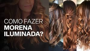 Morena iluminada 曆 olha que cabelo perfeito! Como Fazer Morena Iluminada Minasflor Blog