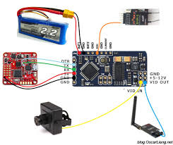 choose osd for quadcopter fpv data on screen display video minimosd kv mod connection naze32 d4r ii rx