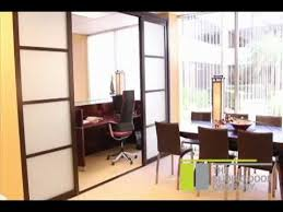 the sliding door company room divider installation