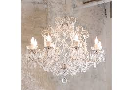 shabby chic chandelier adds ambiance to your room furnitureanddecors com decor