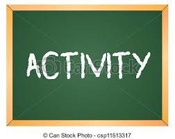 Activities Word The Word Activities Clipart
