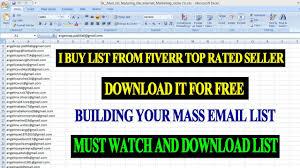 Get 5000 Email Address List Free Collect Usa Uk Internet Marketing