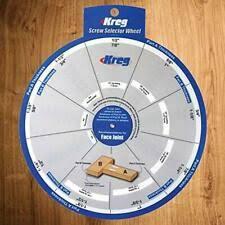 Tools Ssw Kreg Screw Selector Wheel Woodworking