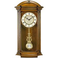 bulova hartwick 30 in h x 14 in w chime wall clock