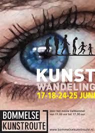 Bommelse Kunstroute Bij de editie van 2018 is mijn werk te zien in Pand 9, Van Heemstraweg West 9, Zaltbommel.