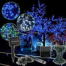 100 outdoor solar led string lights designs