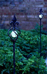 decorative solar lighting. Illuminarie Decorative Solar Plant Stake Lighting