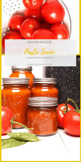 basil garlic tomato sauce canned my