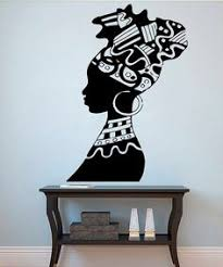 2x housewares tribal african woman wall decal by funnyandsticky art pinterest tribal african wall decals and africans on african woman wall art with 2x housewares tribal african woman wall decal by funnyandsticky