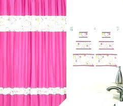 pink shower curtains pink shower curtain hooks hot pink shower curtains curtain bathrooms fabric bath for