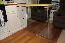 how to add 36 inches your too small rv kitchen countertop pertaining extension plans 9