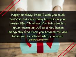 Thank You Message To Boss 60 Unique Happy Birthday Wishes For Boss And Mentor