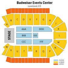 Budweiser Events Center Loveland Tickets Schedule