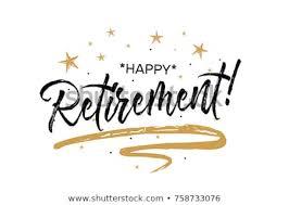 retirement banner clipart happy retirement card beautiful greeting banner stock vector