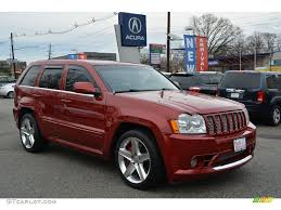 2006 Red Rock Crystal Pearl Jeep Grand Cherokee SRT8 #109665362 ...