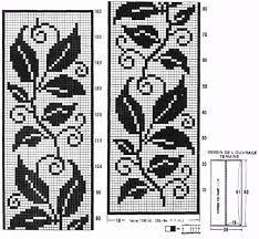 Filet Crochet Patterns New Filet Crochet Patterns Of The Rug Leaves