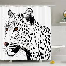 white tiger with blue eyes tattoo. Brilliant Eyes Ambesonne Tattoo The Head Of Magnificent Rare White Tiger With Ocean Blue  Eyes Image Shower Curtain Set  Wayfair And With E
