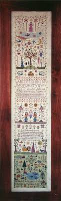 And They Sinned Cross Stitch Chart Sampler Needlework And They Sinned Stitchery Samplers