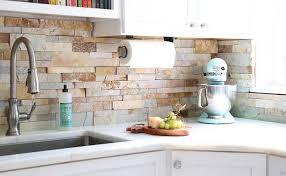 stone veneer kitchen backsplash. A Detail Worth Not Overlooking Stone Veneer Kitchen Backsplash O