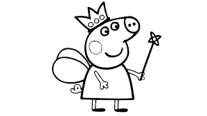 Printable Peppa Pig Coloring Pages Trustbanksurinamecom