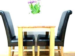small dining table with 2 chairs person kitchen round for two chair set seat black and