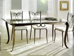 glass top dining table and chairs set 4 india with four rectangle room tables furniture enchantin