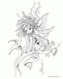 Small Picture Fairy Coloring Pages For Adults Enchanted Designs Fairy