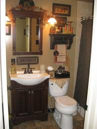 Country Primitive Bathroom Decorating Ideas