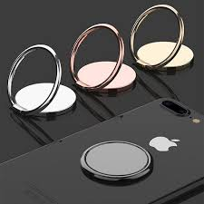 <b>Luxury metal Mobile</b> Phone Socket Holder Universal 360 Degree
