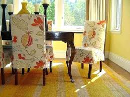1 x slate grey fabric dining chair covers for scroll top high back