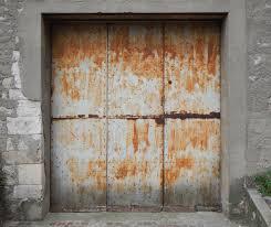 painting metal garage door roller ideas