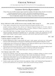 Customer Service Resumes Examples Free Best Customer Service Resume Sample Representative Chronological Template