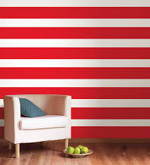 wall pops wps99058 l stick red hot stripe contains a 6 1 2 x 16 stripe by brewster com